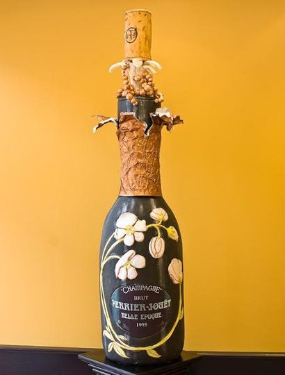 Four Foot Perrier-Jouet Cake