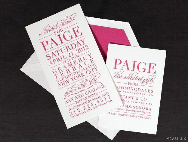East six invitations new york ny weddingwire 800x800 1350591622713 1348378682eastsixccurtisinvback 800x800 1350591612202 1333723991pvannessimgv1 800x800 1350593253392 1333839149pvannessshowerimg1 filmwisefo Gallery