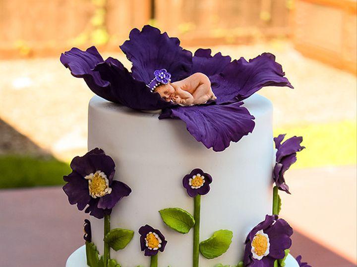 Tmx 1467062285308 Babyshowercakekaly 1f Rohnert Park wedding cake