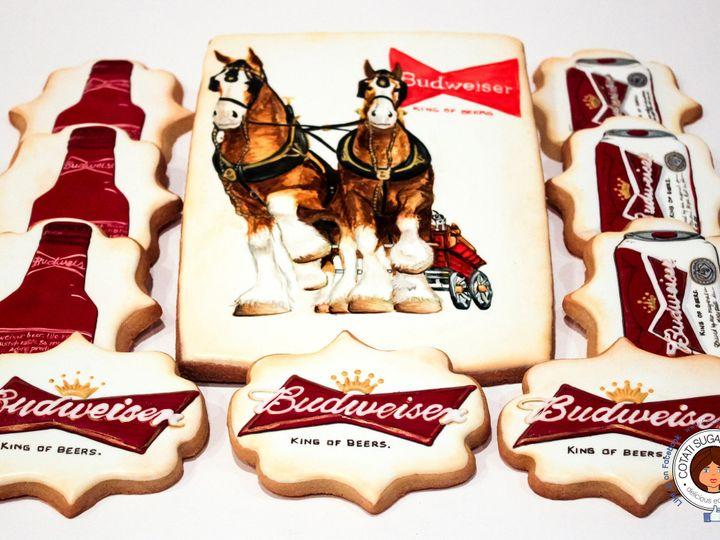 Tmx 1467062523446 Budweiser 1.2 Rohnert Park wedding cake