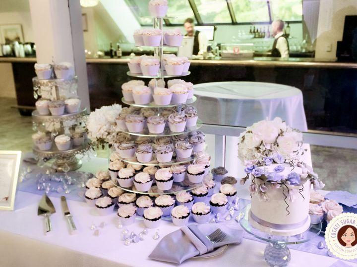Tmx 1503524046451 Floydjodywedding 8f Rohnert Park wedding cake