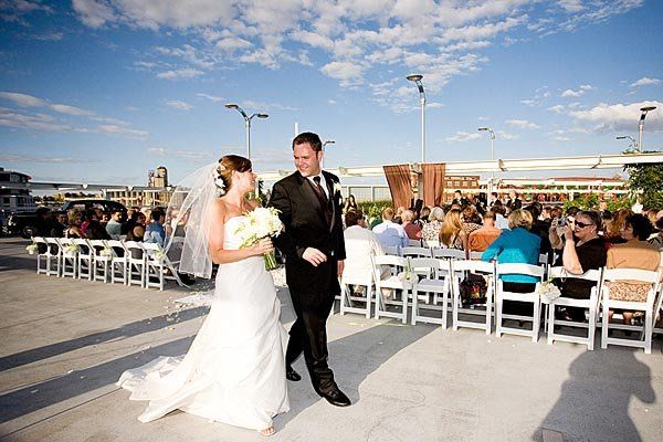 Rooftop weddings at Union Station