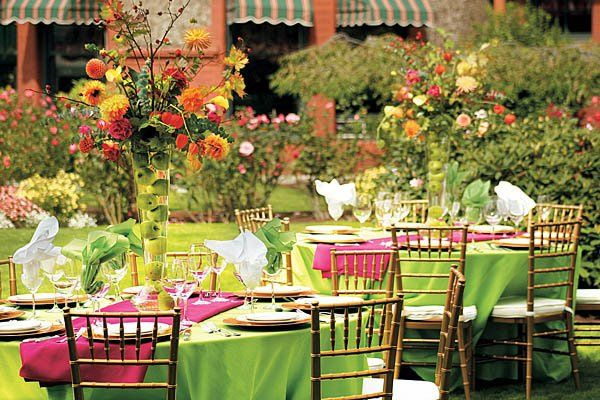 Our rose garden makes for beautiful outdoor receptions