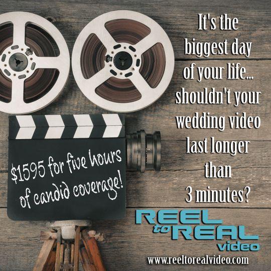 We offer Full Length Videos!