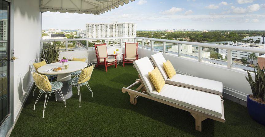 Crown Suite Terrace