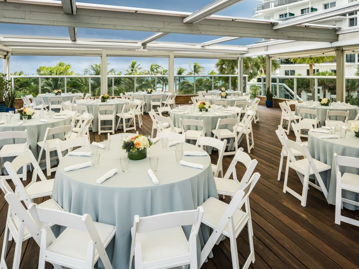 Tmx 1525115918 E783f7bffab96824 1525115914 55d0ee108adf66bf Event Space Vista Terrace Banquet Miami Beach, Florida wedding venue