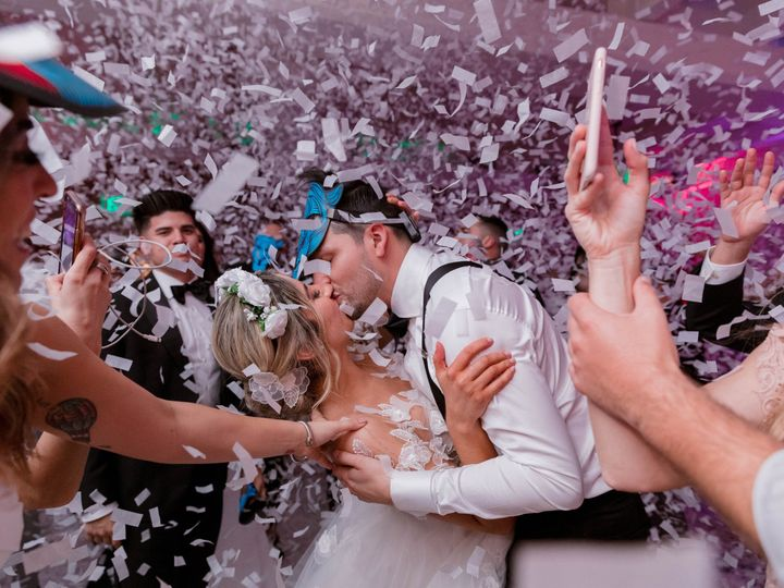 Tmx The Confidante Miami Beach Chloe Steven Wedding Party Couple Kissing 51 933996 V2 Miami Beach, Florida wedding venue