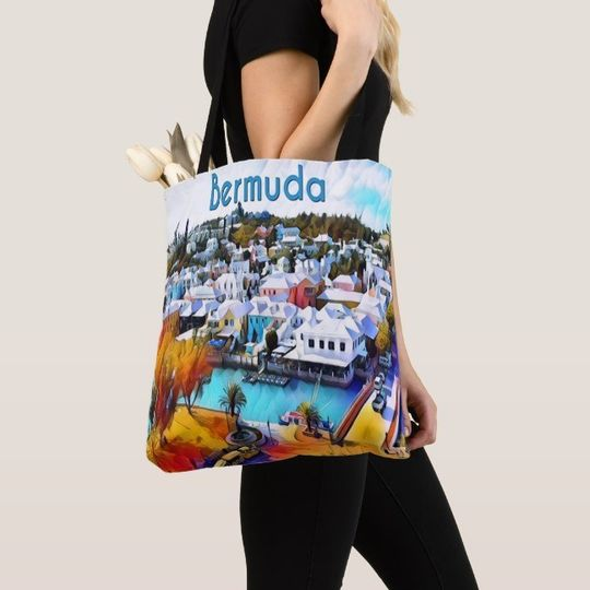 Wedding theme tote bag