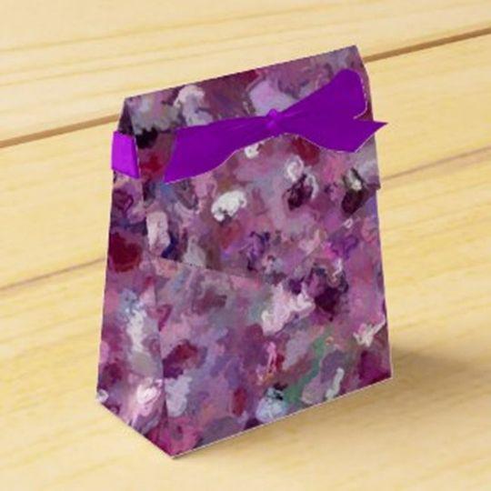 Gift Box -match wedding colors
