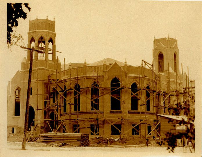 amc being built 1920s