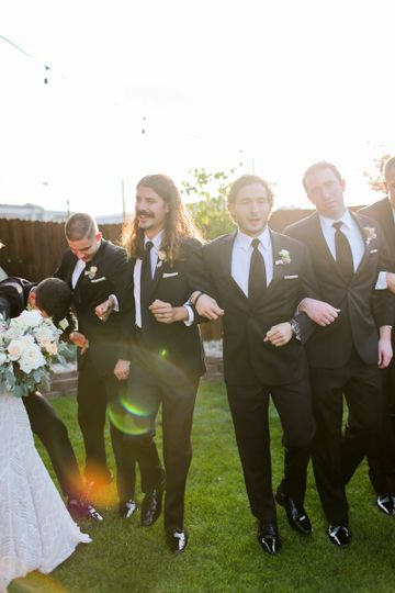0157 kaley larry wedding party