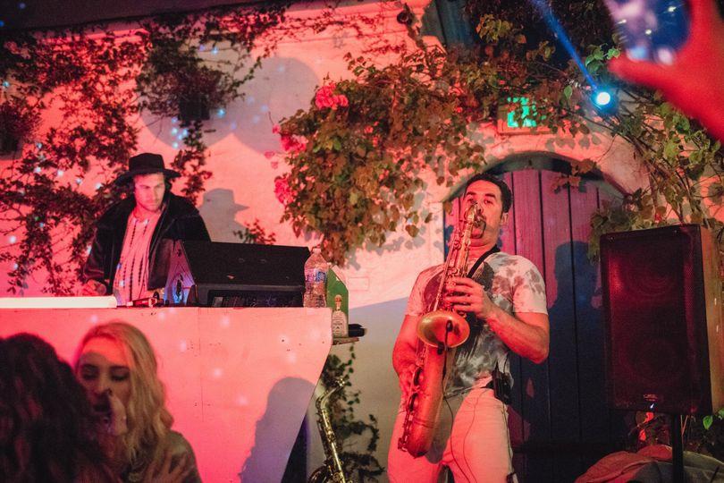 DJ-Saxophone collaboration