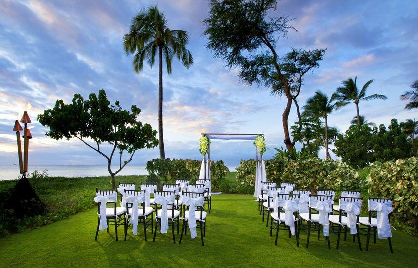 Wedding outdoor venue