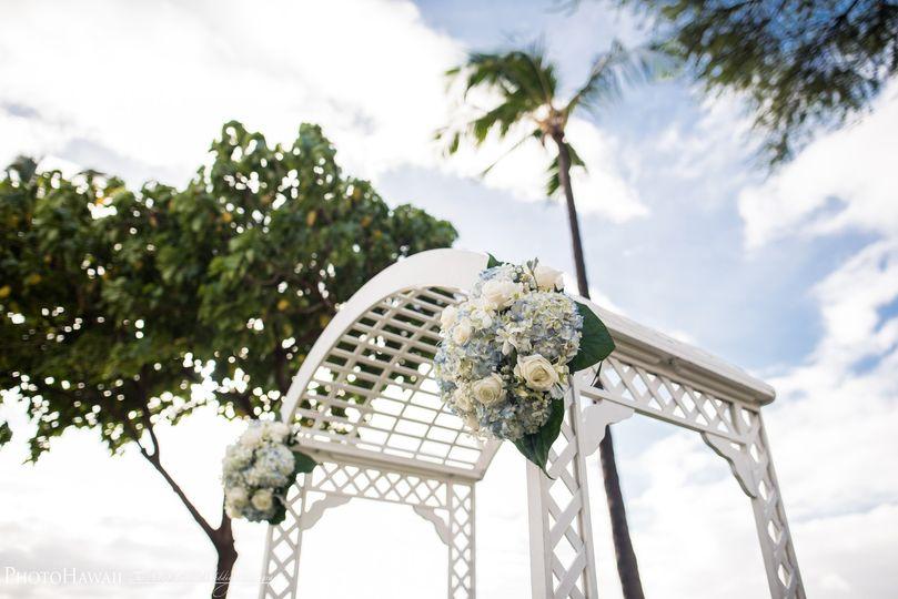 Wedding ceremony entry
