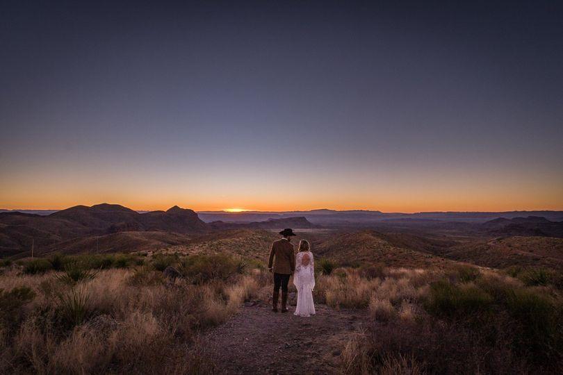 Sotol Overlook Popup Wedding, Big Bend National Park, TX