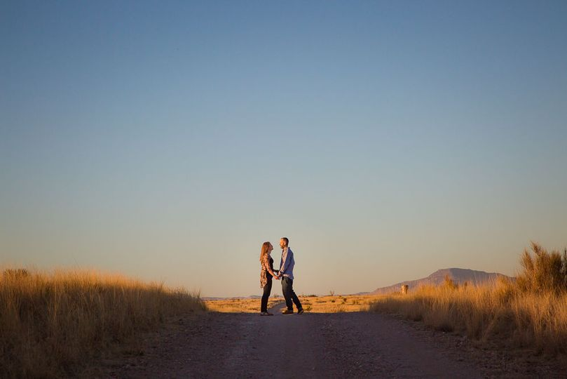 Marfa Texas Engagement Session