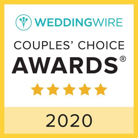 COUPLES' CHOICE AWARD 2020