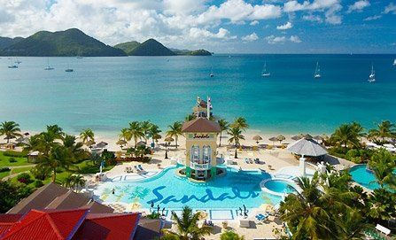 Sandals & Beaches Luxury All-Inclusive Vacations Sandals St. Lucia