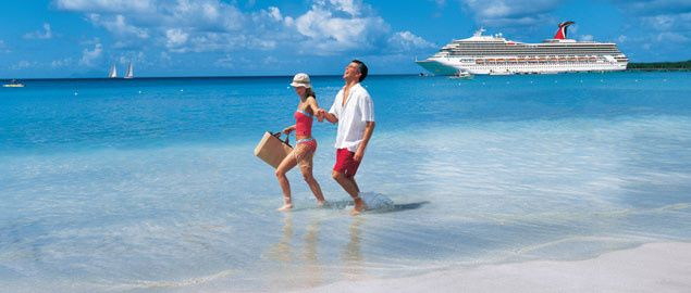 carnival cruise line couple