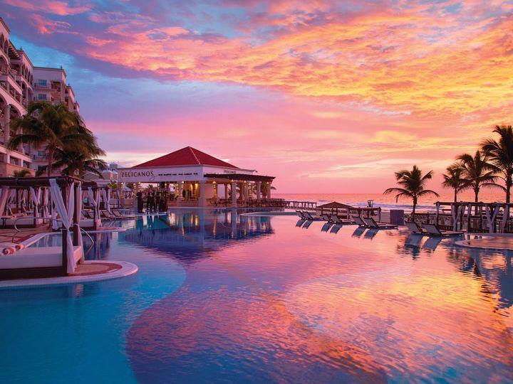 Tmx Hyatt Zilara Cancun Main Pool Sunset 51 78996 160288559344841 Saint Petersburg, FL wedding travel