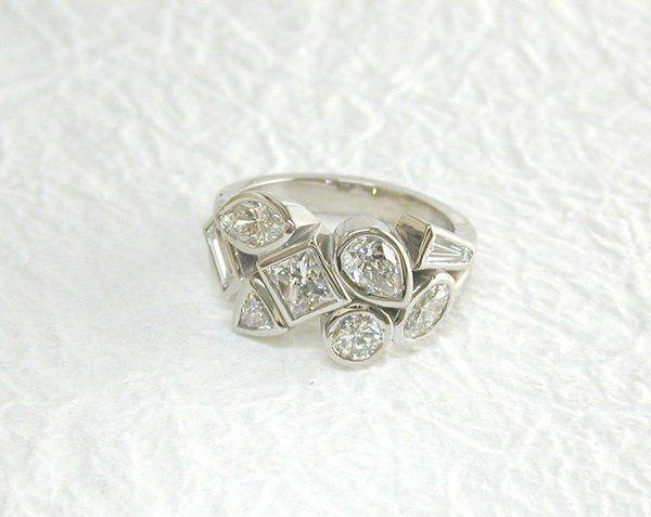 Tmx 1301851411770 FancyShapedDiamondRing Osseo wedding jewelry