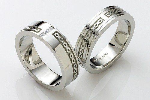 Tmx 1301851956645 Mensweddingbandsinfinity Osseo wedding jewelry