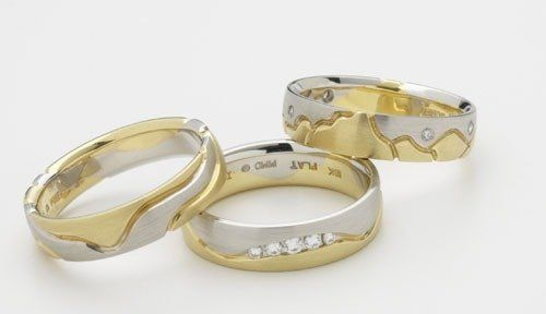 Tmx 1301852296161 Mensweddingbandstwotones Osseo wedding jewelry