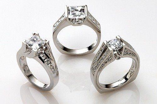 Tmx 1301852604427 Ladiesweddingthreerings Osseo wedding jewelry