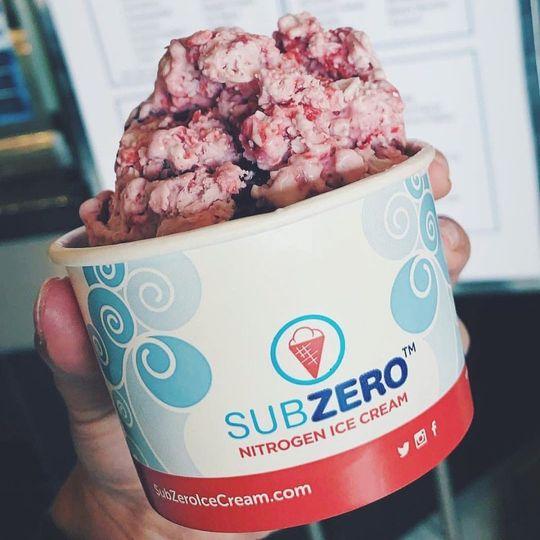 Delicious frozen desserts