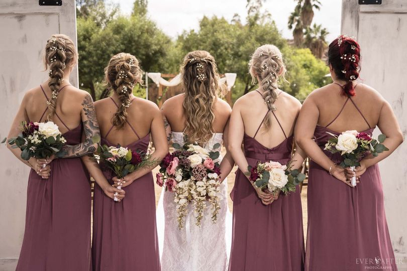 Bridesmaids goals..