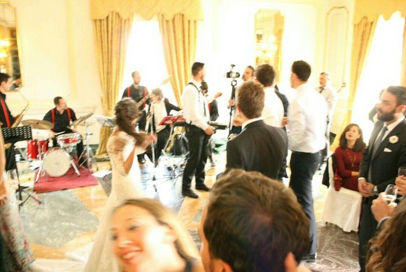 Wedding Party in Rome