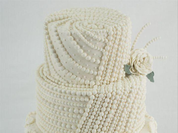 Tmx 1422194599504 Pearlweddingcake Bennington wedding cake