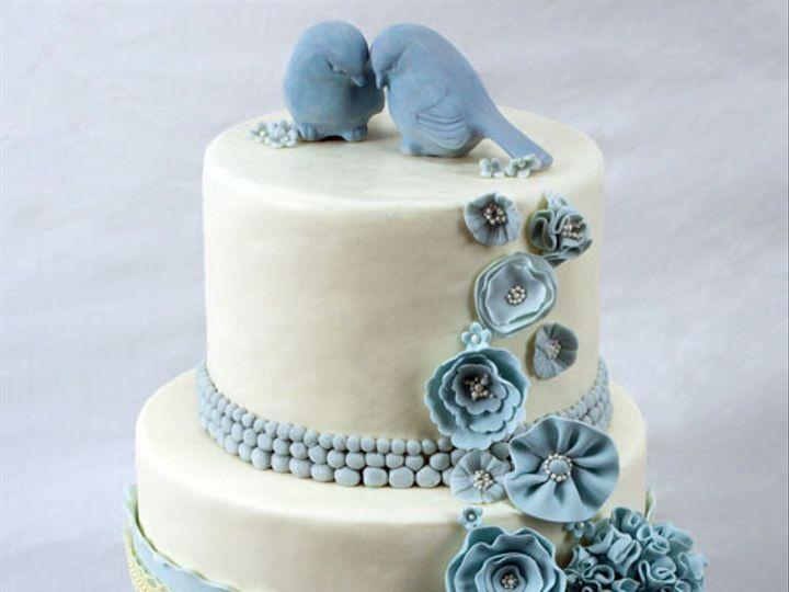 Tmx 1422194602825 Somethingbluecake Bennington wedding cake