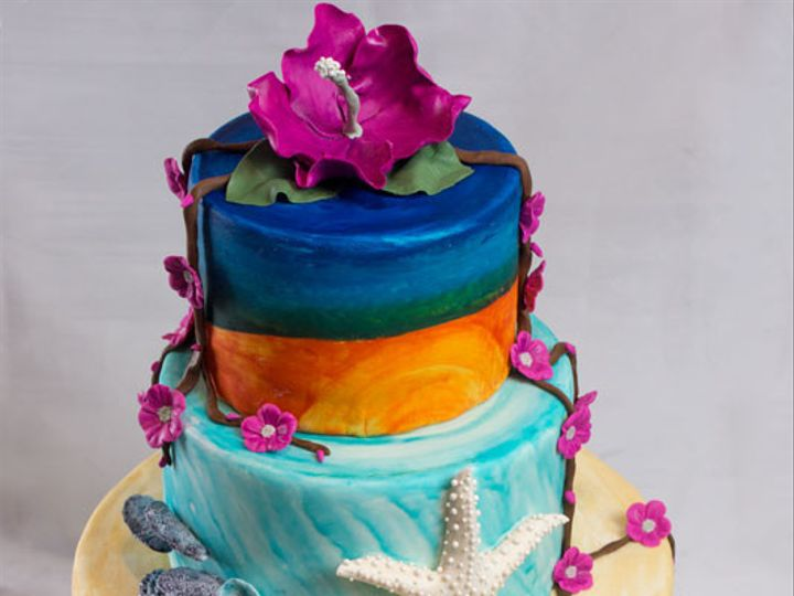 Tmx 1422194607189 Surfsandcakeweb Bennington wedding cake