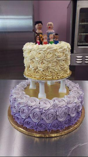 petals and pastries wedding cake salt lake city ut. Black Bedroom Furniture Sets. Home Design Ideas
