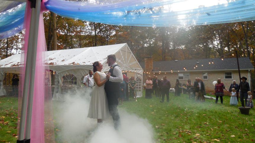 Jason and Carey's first dance