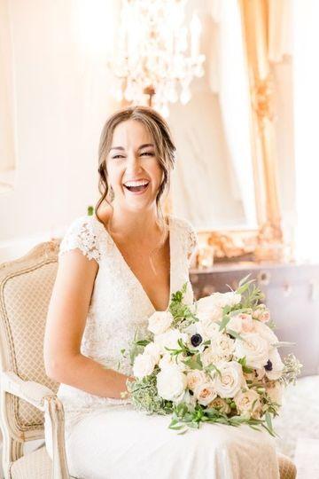 Wedding day smiles