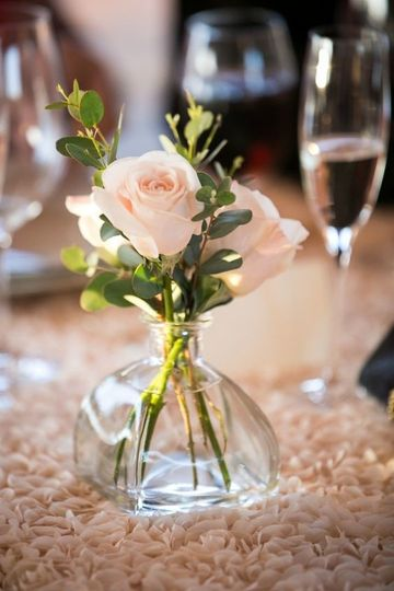 Table centerpiece by Anything's Possible Events