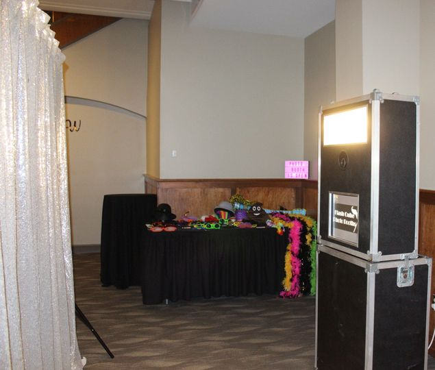 Open Photo Booth with Props