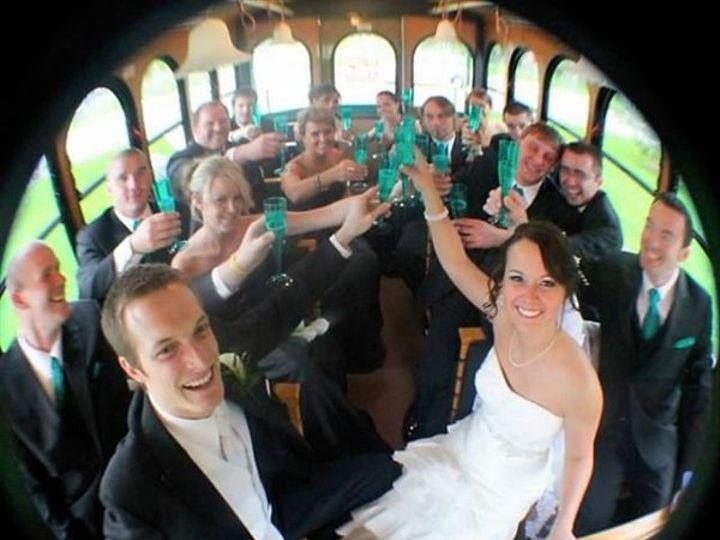Tmx 1335457334404 Fisheyelenspicture Elkhorn wedding transportation