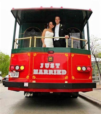 Tmx 1335457335387 Justmarriedtrolley Elkhorn wedding transportation