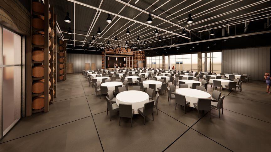 Banquet Room Rendering