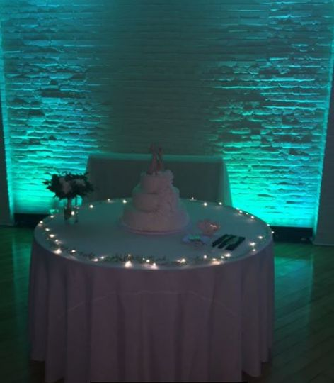 Cake Table HEX Lighting