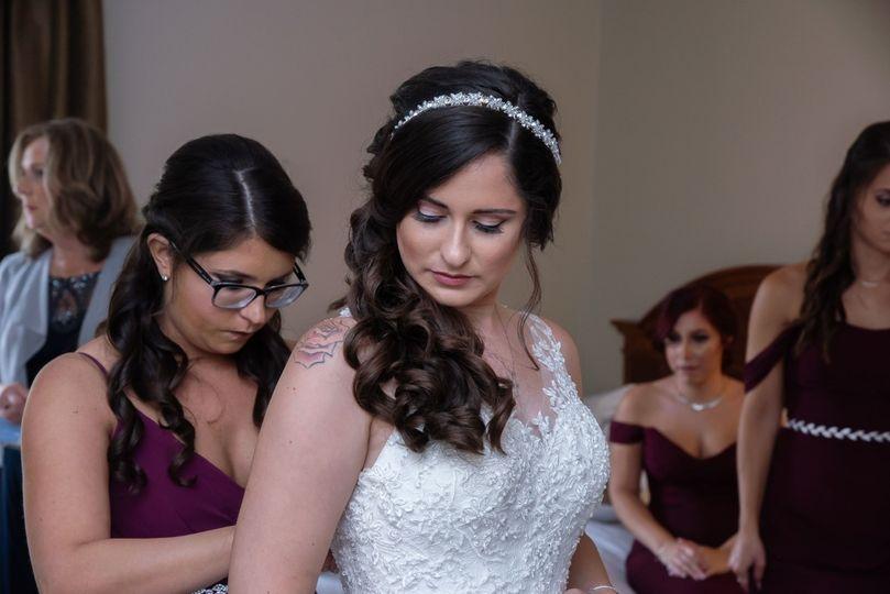 Simple bridal makeup look