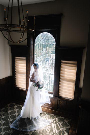 Bride on landing - jaros