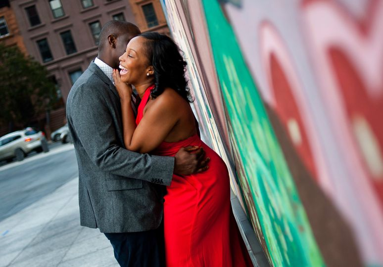 Harlem New York engagement