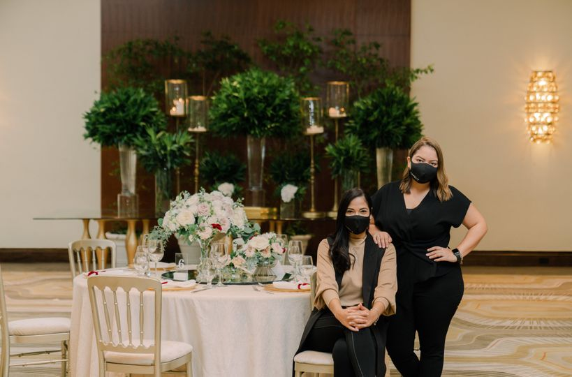 We are the wedding planners!
