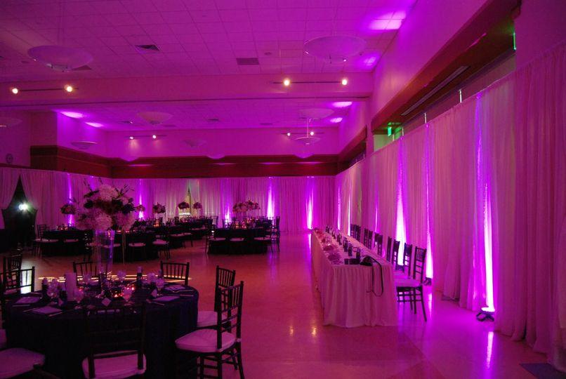 Pink wireless uplights