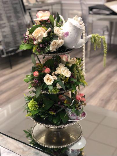 Tea party florals