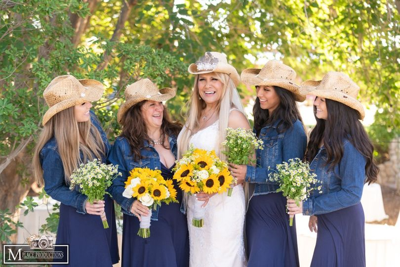 Country, rustic wedding